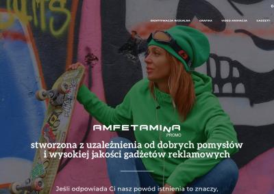 Amfetamina.promo – strona internetowa